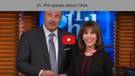 Dr Phil and Robin McGraw speak about CASA.